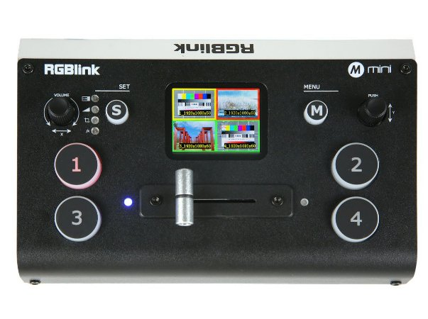 Switch Para Streaming Rgblink Mini  Multiview