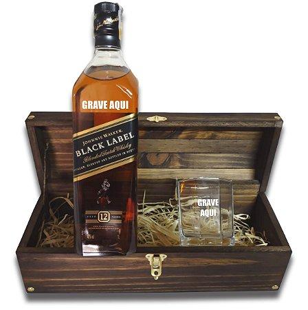 Kit Whisky Personalizado - Black Label