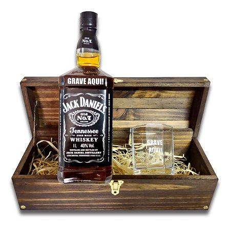Kit Whisky Personalizado - Jack Daniels
