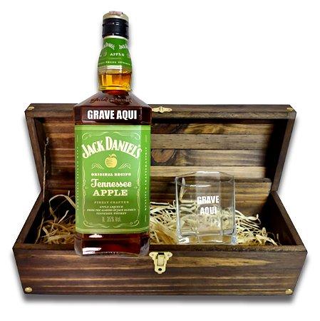 Kit Whisky Personalizado - Jack Daniels Apple