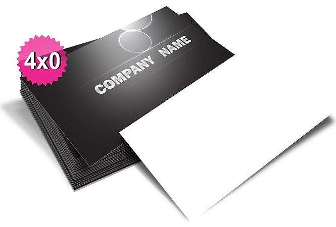 Cartão de visita Frente  4x0  300g