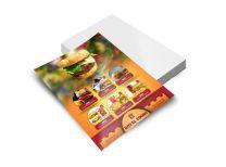 Panfletos ou folhetos 4x0 Frente - 100x140mm