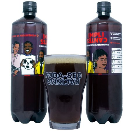 (4 Growlers PET) Abolicionista Brown Ale