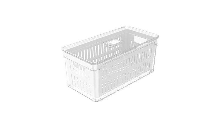 Organizador Clear Fresh Com Cesto - OU