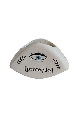 Vaso De Parede Proteção - Olho Grego