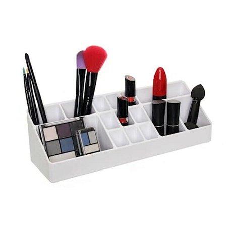Organizador De Maquiagem em Acrílico Grande - Metaltru