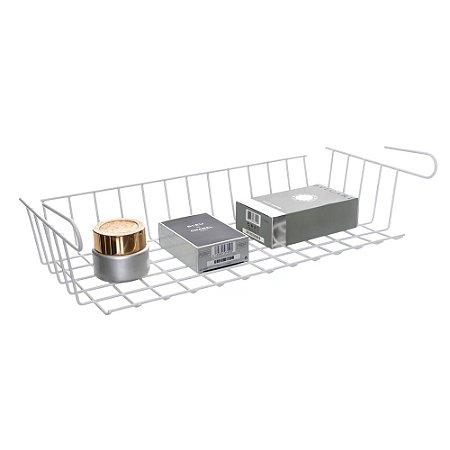 Cesto Suspenso Aramado Organizador Grande - Metaltru