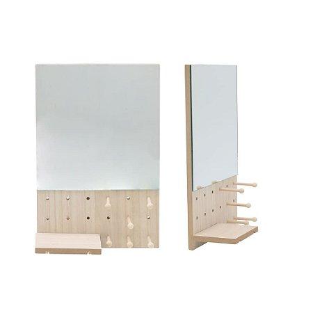 Espelho Com Prateleira - Urban