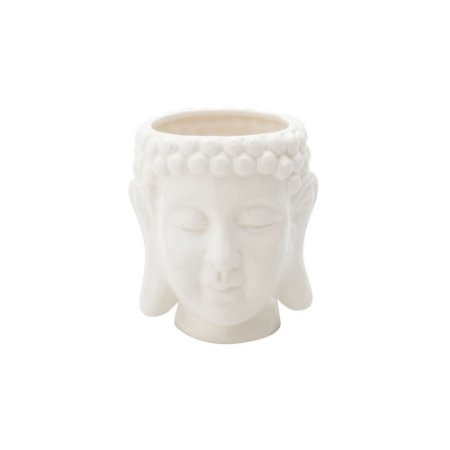 Cachepô Em Cerâmica Buda - Urban