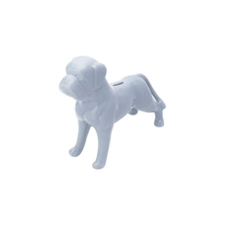 Cofre De Cerâmica Em Formato De Cachorro - Urban