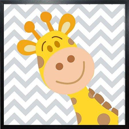 Quadro Girafa Infantil - Quadrum & Art
