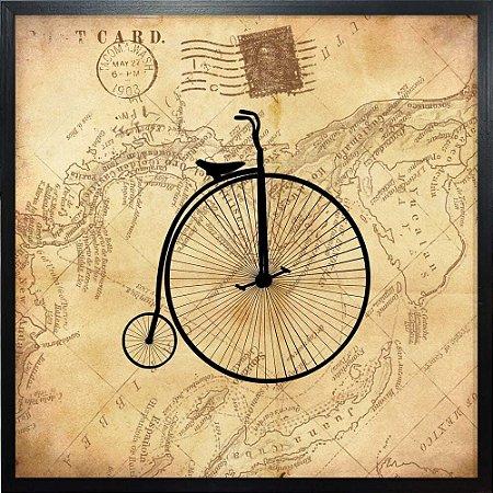 Quadro Selo De Bicicleta - Quadrum & Art