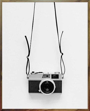 Quadro Máquina Fotográfica - Quadrum & Art