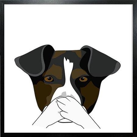 Quadro Cachorro - Quadrum & Art