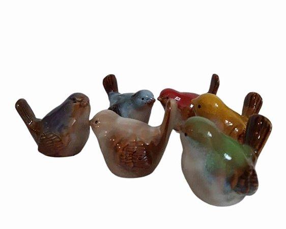Passarinhos Porcelana - Artes Zu