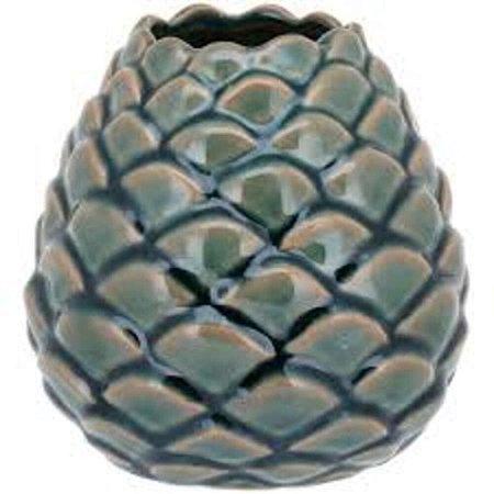 Vaso Cerâmica Verde Peq. - GS