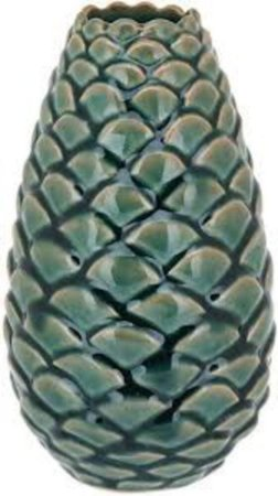 Vaso Cerâmica Verde Médio - GS
