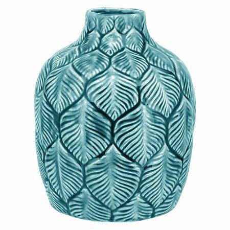 Vaso Cerâmica Azul Peq. - GS