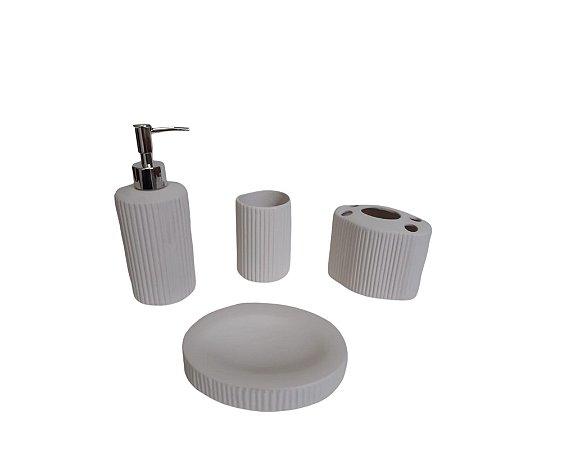 Kit Banheiro de Cerâmica - China Shopping