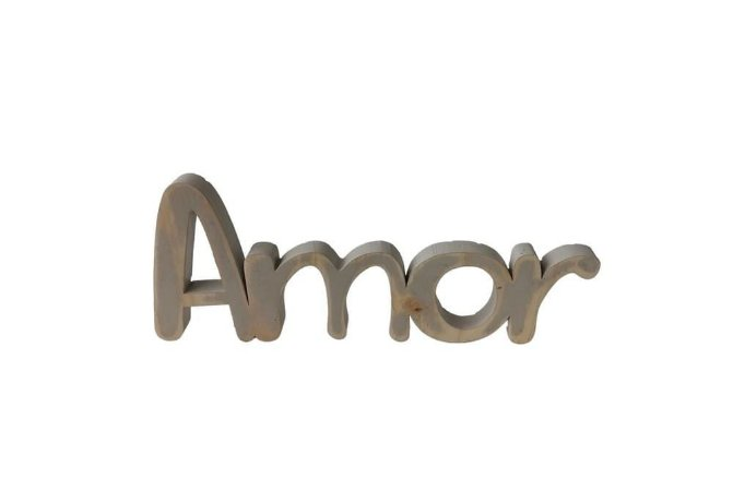 Palavra Decorativa Amor - Devitro