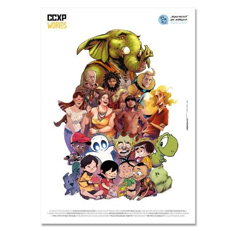 Pôster Oficial CCXP Worlds
