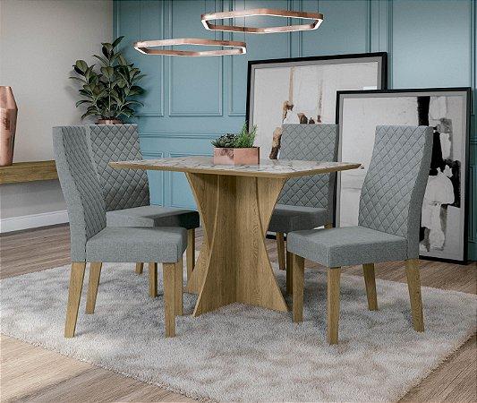 Conjunto de Mesa Figueira 4 Cadeiras