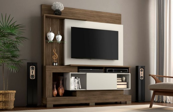 Home NT1060 Cor Nogal Trend/Off White