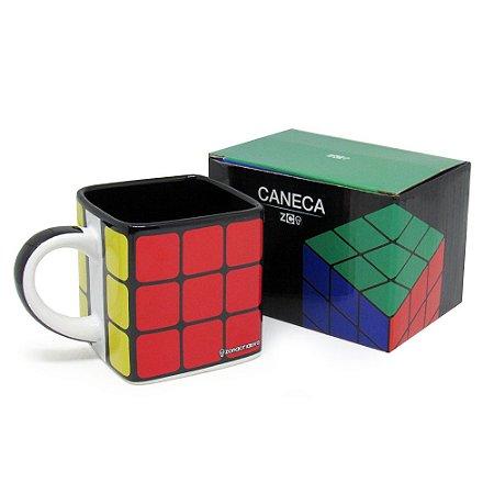 Caneca Cubo 300ml Cubo Mágico Rubiks