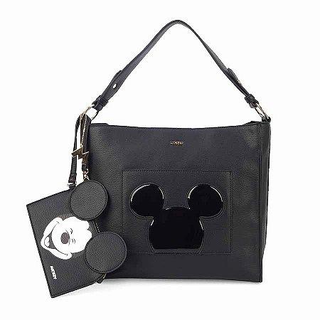 Bolsa de ombro silhueta verniz - Mickey Disney