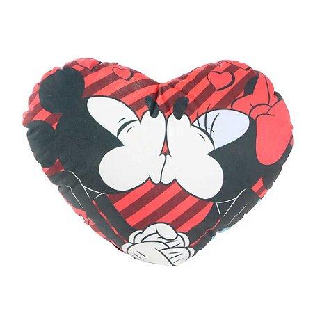 Almofada shape coração - Mickey e Minnie