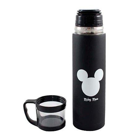 Garrafa térmica com caneca - Mickey Disney