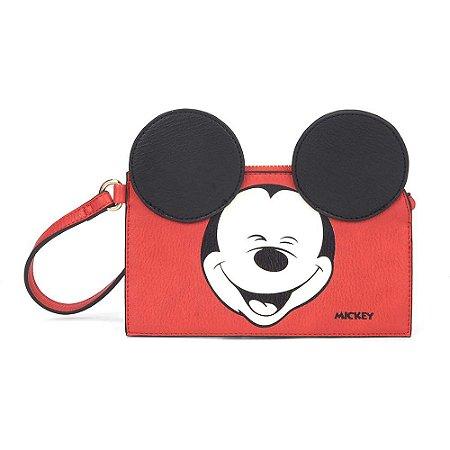 Necessaire com alça Happy - Mickey Disney