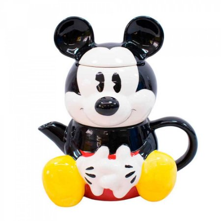 Conjunto de chá 3D - Mickey Disney