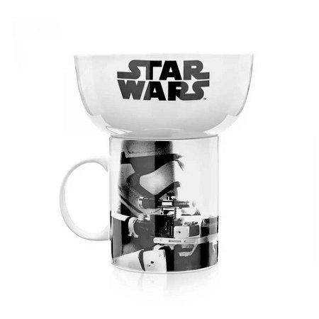 Conjunto para lanche Stormtrooper - Star Wars