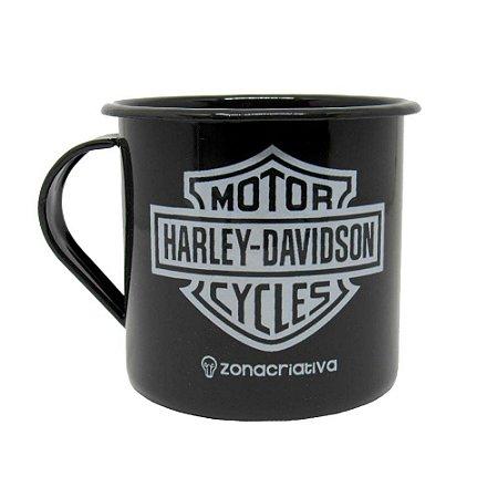 Caneca retrô - Harley-Davidson