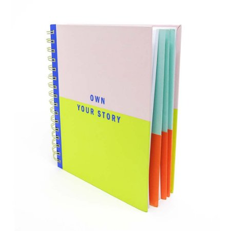 Caderno Own your story