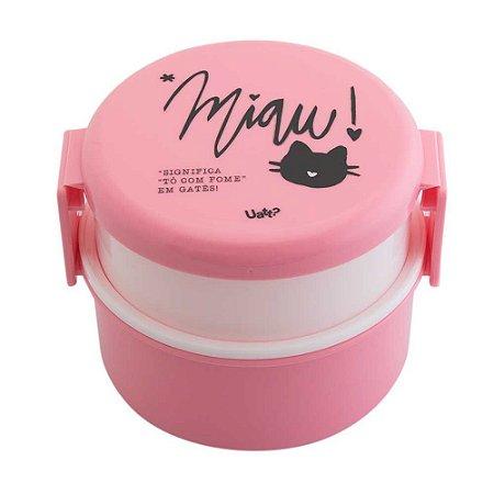 Mini marmita redonda - Gatinha
