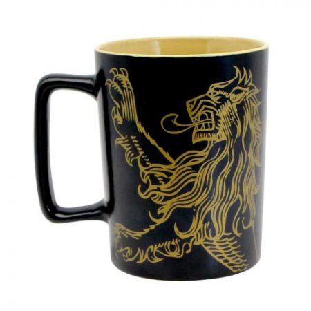 Caneca alça quadrada Lannister - Game of thrones