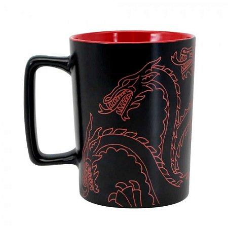Caneca alça quadrada Targaryen - Game of thrones