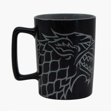 Caneca alça quadrada Stark - Game of thrones