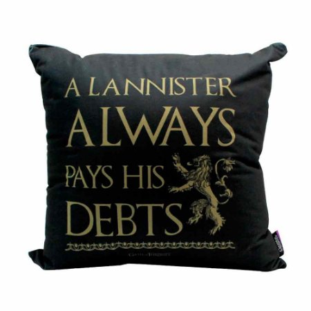 Almofada lema Lannister - Game of Thrones