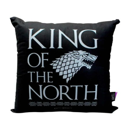 Almofada King of the north - Game of Thrones