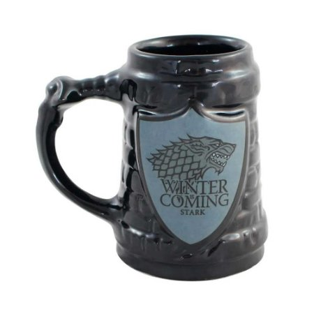 Caneca escudo Stark - Game of Thrones