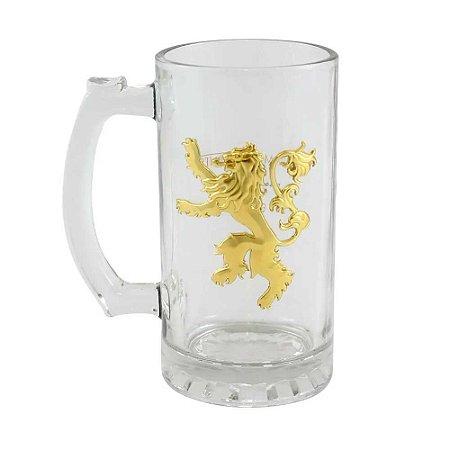 Caneco de vidro Lannister - Game of Thrones