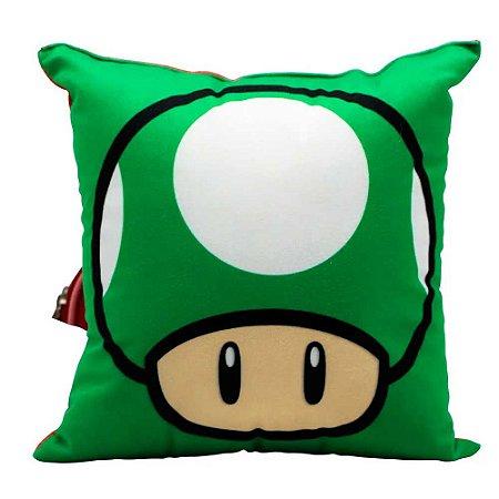 Almofada Cogumelos - Super Mario