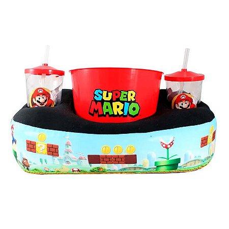 Almofada de pipoca - Super Mario