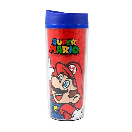 Copo de viagem - Super Mario