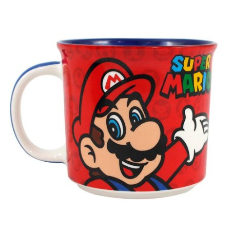 Caneca tom - Super Mario