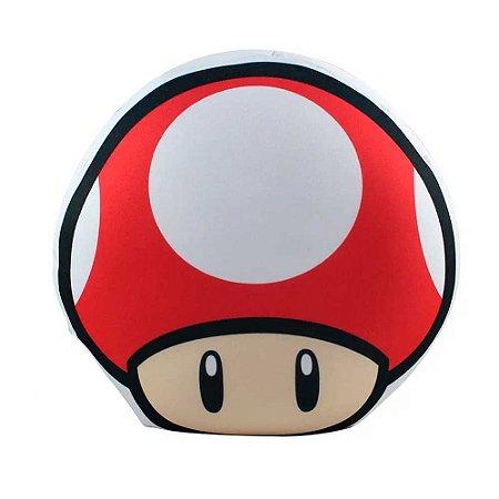 Almofada shape cogumelo - Super Mario
