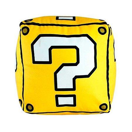 Almofada shape bloco - Super Mario